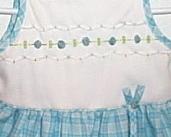 Toddler Girls NWOT Little Bitty Blue White Sun Dress Size 2T