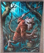 Teenage Mutant Ninja Turtles Splinter Glossy Print 11 x 17 In Plastic Sl... - $24.99