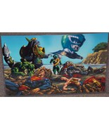 Power Rangers Green Ranger vs Avengers & Justice League Glossy Print 11 ... - $24.99