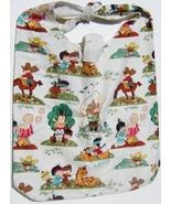 Cowboy & Indians Design Custom Made One Piece Adjustable Strap Tote Handbag - $24.95