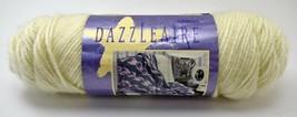 Vintage Caron Dazzleaire 4 Ply Acrylic/Nylon Yarn - 1 Skein Off White #2615 - $11.35