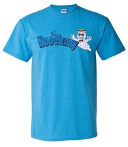 Boo Berry T-shirt retro cotton 80s tee monster cereal Frankenberry Chocula Blue image 2