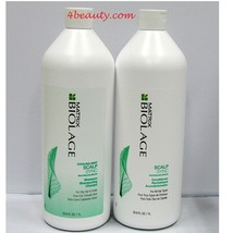 Matrix Biolage Scalp Cooling Mint Shampoo and Conditioner 33.8 oz DUO - $44.99