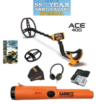 Garrett ACE 400 Metal Detector Headphones, Propointer AT Pinpointer, Bag... - $7.437,91 MXN