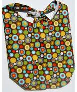 Multi Circle Design Custom Made One Piece Adjustable Strap Tote Handbag ... - $24.95