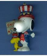 Snoopy The Winning Ticket Mini Christmas Ornament Spotlight on Snoopy Ha... - $9.99