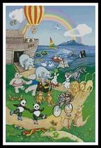Ark Animals noah's ark cross stitch chart Artecy Cross Stitch Chart - $14.40