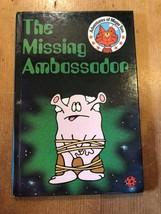 """1985/86 """"THE MISSING AMBASSADOR"""" LADYBIRD BOOK (SERIES 814 - 75p NET) - $1.30"""