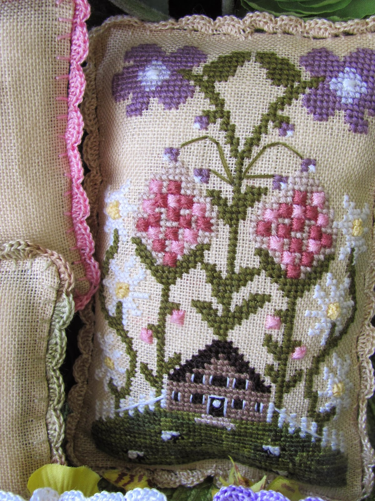 My Secret Garden: My Secret Garden Cross Stitch Chart By The Bay Needleart