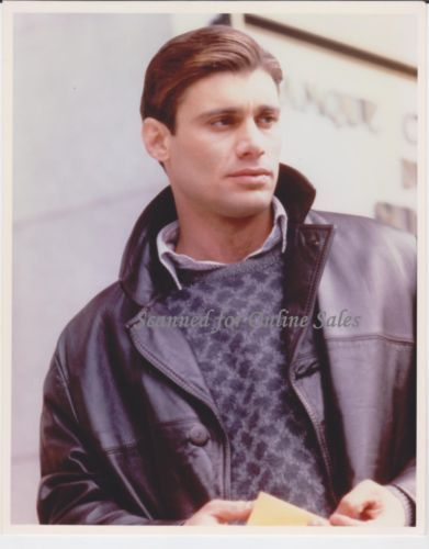 Steven Bauer Sexy in Leather 8x10 Photo