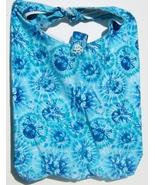 Blue Skull Design Custom Made One Piece Adjustable Strap Tote Handbag Ca... - $24.95