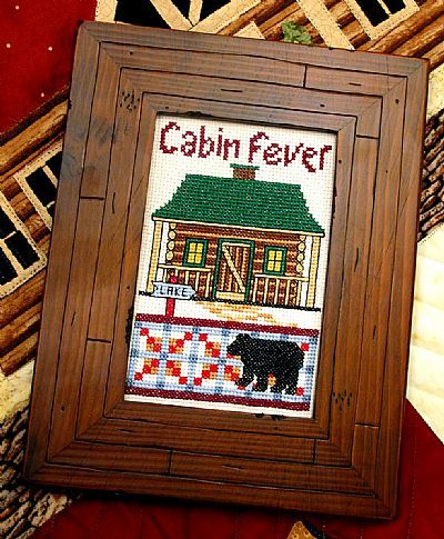 Primary image for Cabin Fever cross stitch chart Bobbie G Designs