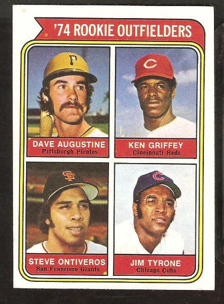 Primary image for 1974 Topps # 598 Cincinnati Reds Ken Griffey Rookie Card RC