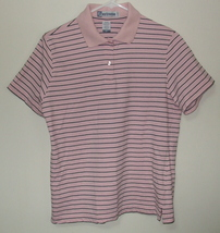 Womens Extreme Pink Short Sleeve Polo Shirt Size M - $4.95