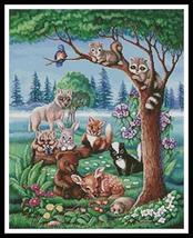 Forest Friends cross stitch chart Artecy Cross Stitch Chart - $14.40