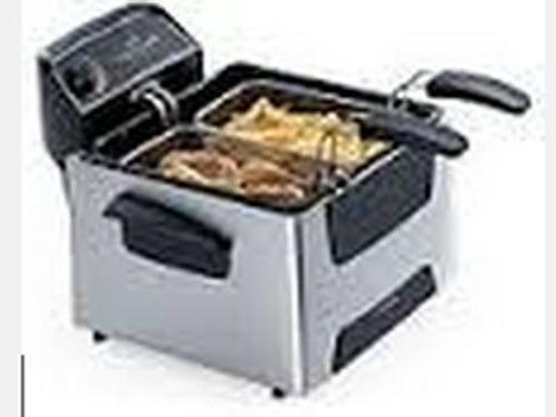 Chicken fish fryer basket cooker kitchen turkey appliance for Fish fryer basket