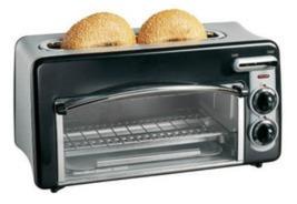 Pizza Toaster Ovens Baking Kitchen Eat Breakfast Snack Bread Sheet Micro... - $69.99