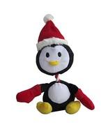 Iconic Pet Christmas Penguin Plush Rope/Squeaky Holiday Pet Dog Toy - $8.20