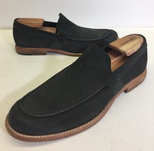 $168 FRYE leather Suede loafers Slip-On Shoes Mens Size 10 - $74.47