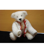 Collector Artist Teddy Bear, Ursa, Collectible Wool teddy, hand knitted ... - $48.99