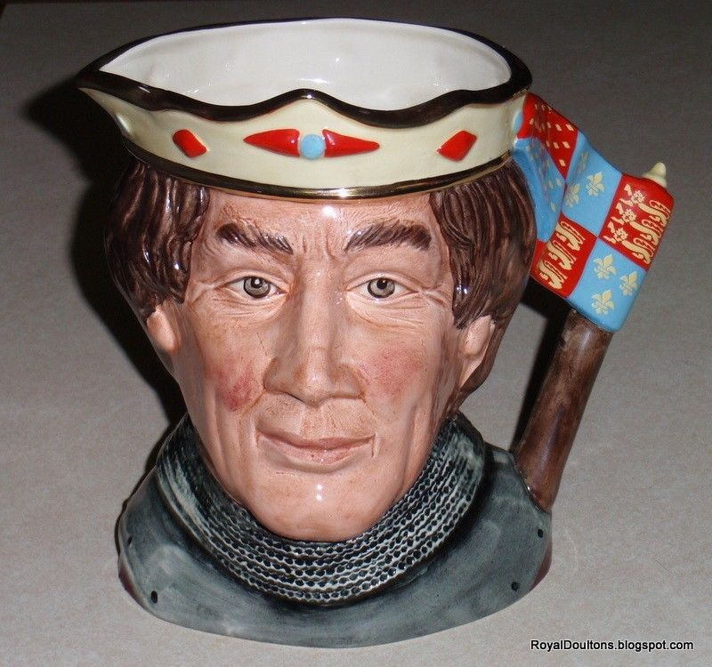 Primary image for Henry V Royal Doulton LARGE Character Toby Jug D6671 Shakespearean Collection