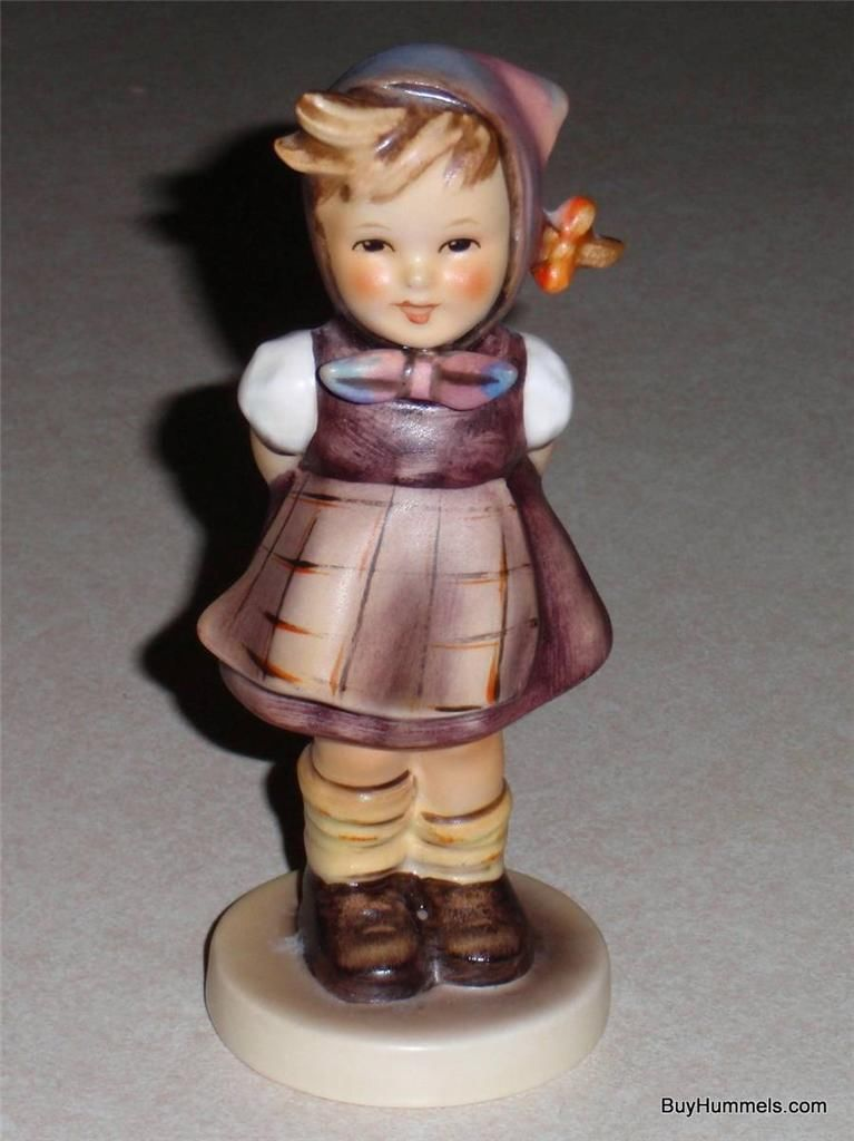 "Primary image for Goebel Hummel Figurine #258 ""Which Hand"" TMK4 - EXCELLENT CONDITION"