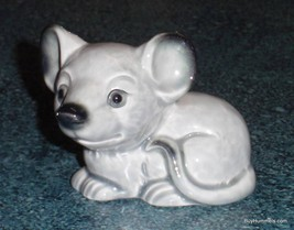 Grey Goebel Smiling Mouse Figurine #35795 - CUTE PORCELAIN ANIMAL COLLEC... - $34.91
