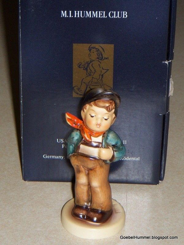 "Primary image for ""Lucky Fellow"" Goebel Hummel Figurine #560 Hummel Club 1992/93 With Original Box"