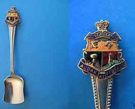 QUEENSLAND Australia Souvenir Collector Spoon Shovel AUSTRALIAN Collecti... - $6.95