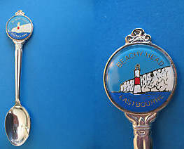 Primary image for BEACHY HEAD Eastbourne ENGLAND Souvenir Collector Spoon Collectible LIGHTHOUSE