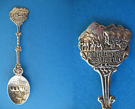 Primary image for KNOTTS BERRY FARM Buena Park California Souvenir Collector Spoon Collectible