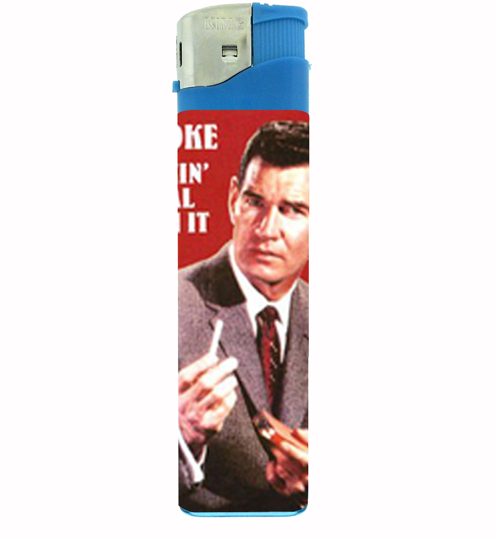 Primary image for I Smoke; Deal With It, Rude!!! Jumbo Lighter D-057