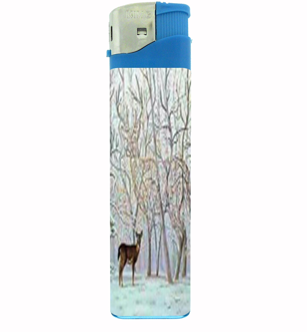 Primary image for Deer Optical Illusion Hidden Jumbo Lighter D-079