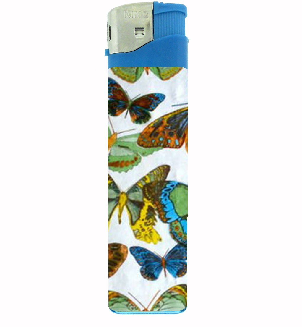Primary image for 1960s Or 70s Mod Butterflies 1 Jumbo Lighter D-304