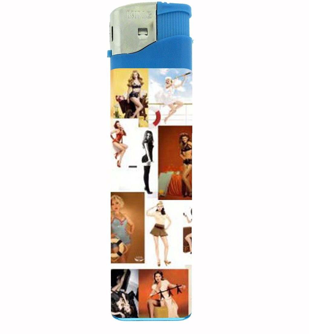 Primary image for Modern Pin Up Girls Sexy Babes Jumbo Lighter D-334