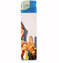 Pin Up Retro Babe In Towel Jumbo Lighter D-453 - $13.48