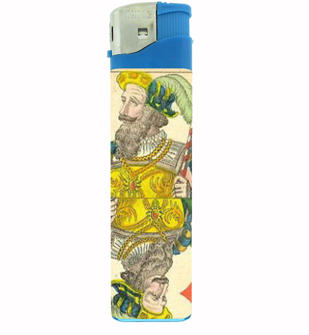 Primary image for Playing Card 1850 King Diamond Jumbo Lighter D-459