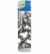 Pirate Pin Up Girl Savage, Great Cleavage! Jumbo Lighter D 458 - $13.48