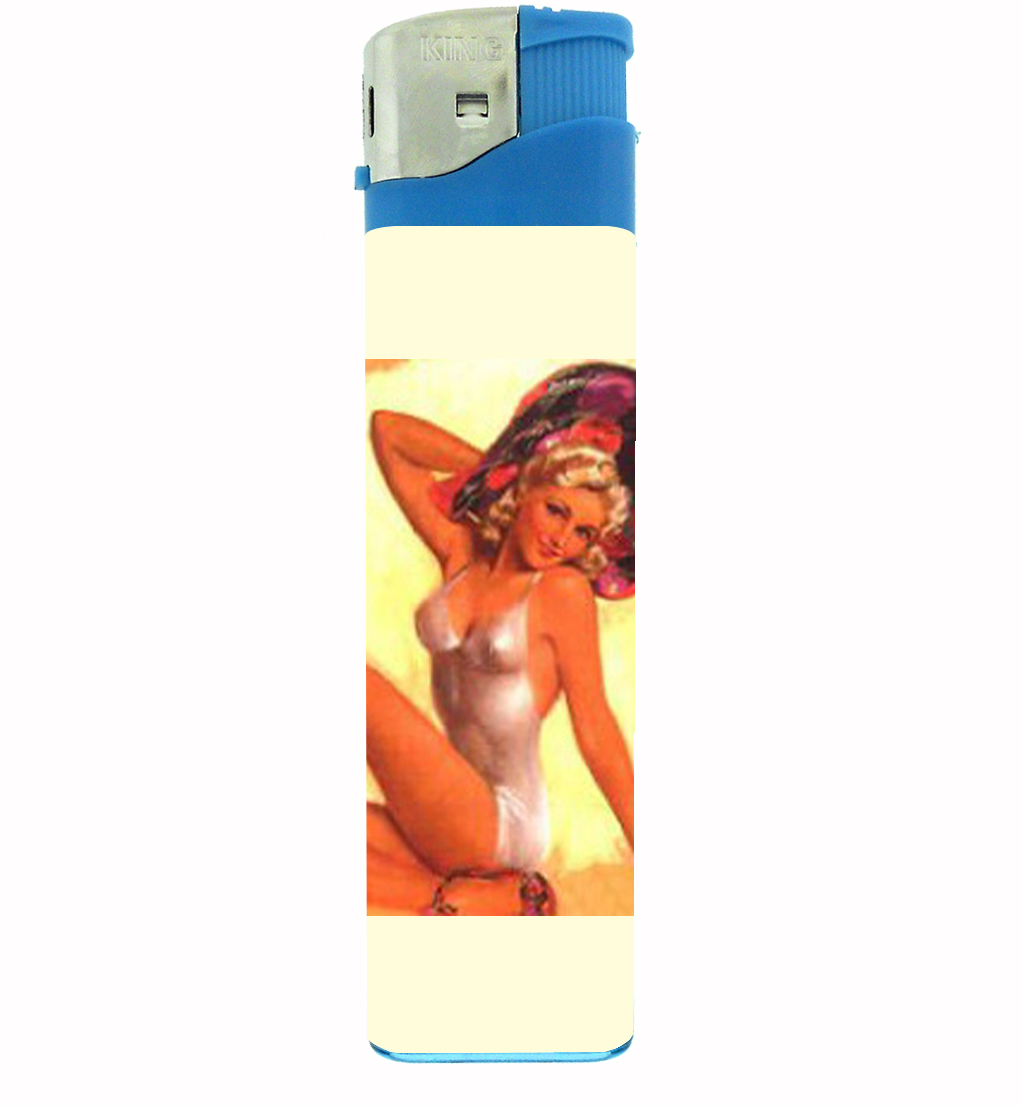 Primary image for Pin Up Sexy Rockabilly Jumbo Lighter D-455