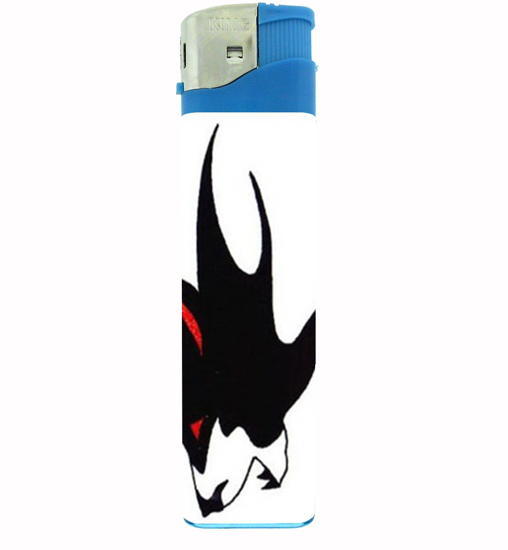 Primary image for Wolf Tattoo Native American Jumbo Lighter D-495