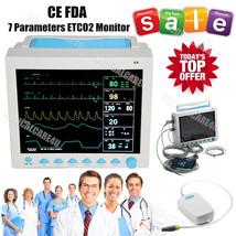 FDA CE ICU Vital Signs Monitor CO2 ETCO2 Patient Monitor  7 Parameters C... - $696.68