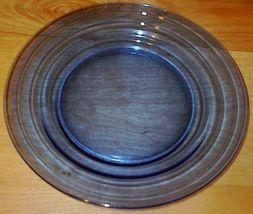 Moderntone Depression Glass Cobalt Blue Dinner Plate #1 - $8.00