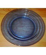 Moderntone Depression Glass Cobalt Blue Dinner Plate #1 - $9.95