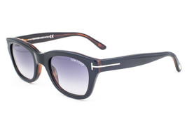 Tom Ford Snowdon Black / Gray Sunglasses TF237 05B 50mm - $195.02