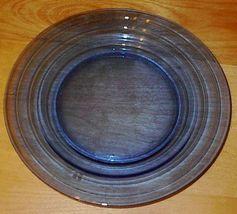 Moderntone Depresssion Glass Cobalt Blue Dinner Plate # 2 - $8.00