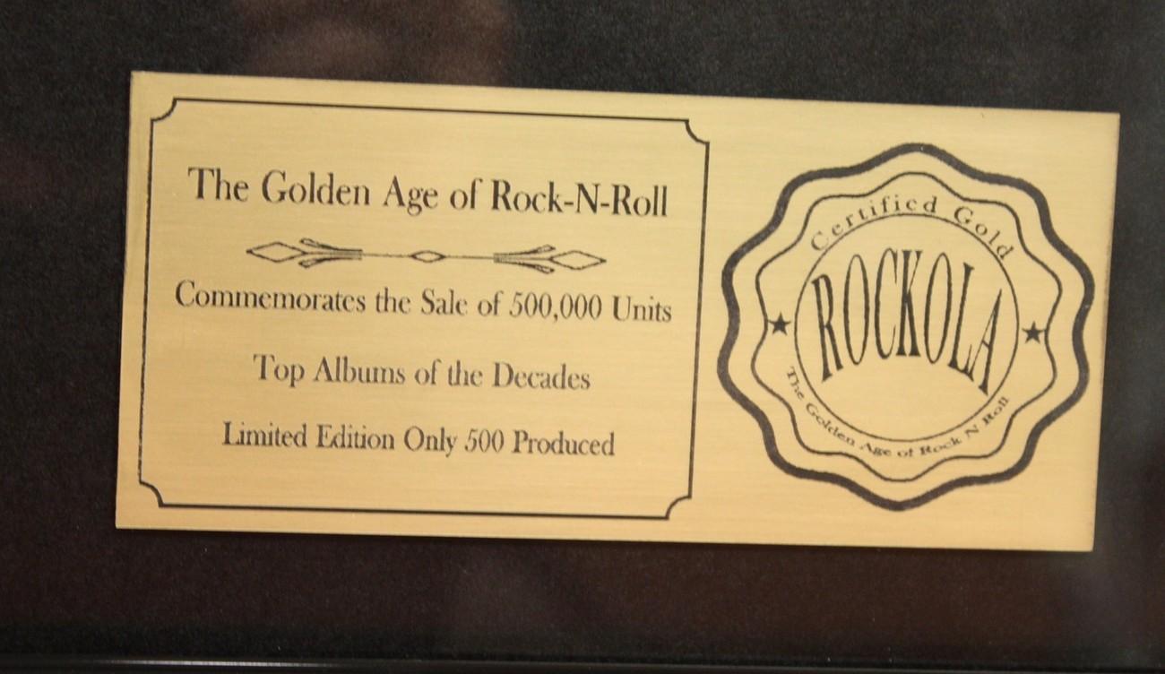 STEELY DAN CUSTOM FRAMED PREMIUM GOLD AWARD QUALITY RECORD DISPLAY