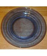 Moderntone Depression Glass Cobalt Blue Sherbet Plate #1 - $5.00
