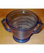 Moderntone Depression Glasss Cobalt Blue Sugar Bowl - $7.95
