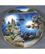 Serenity Of Waipio Collector Plate Underwater Paradise 1991 Robert Lyn N... - $21.95