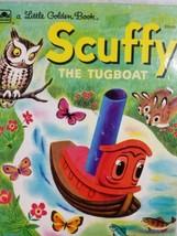A Little Golden Book Scruffy The Tugboat 310-51 - $8.73